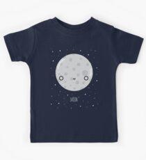Der Mond Kinder T-Shirt