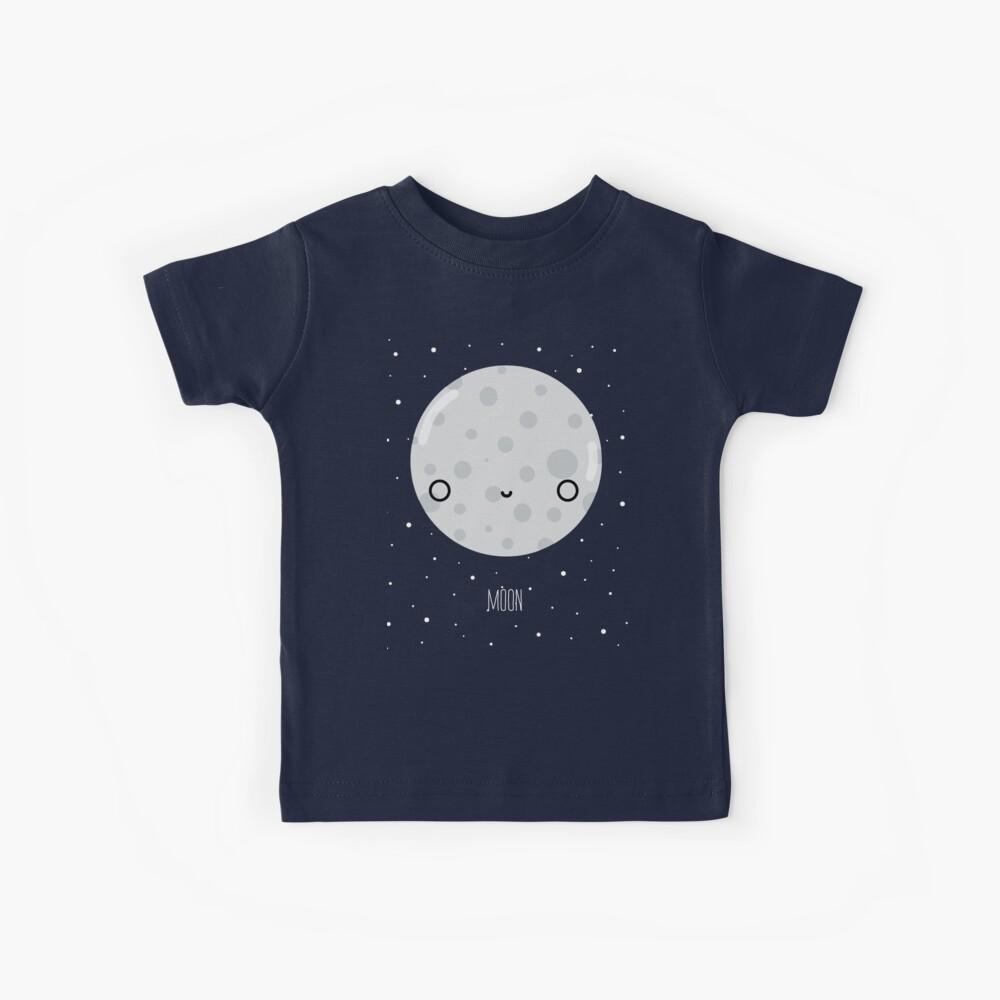 The Moon  Kids T-Shirt