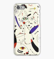 Miro inspiration iPhone Case/Skin