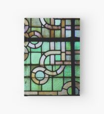 Cuaderno de tapa dura Pattern on stained glass window