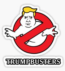 Trump Busters - Donald Trump Ghostbusters Sticker