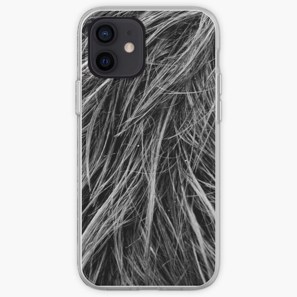 Texture of Hair iPhone Soft Case