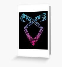 Angelic Runes Symbol - Shadowhunters Greeting Card