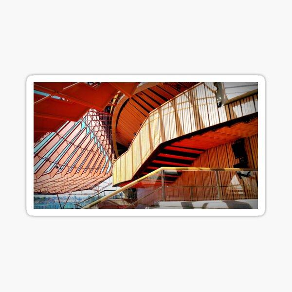 Opera House Interior Sticker