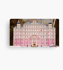 The Grand Budapest Hotel - Wes Anderson Film Canvas Print