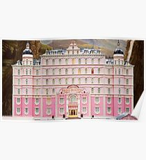 The Grand Budapest Hotel - Wes Anderson Film Poster
