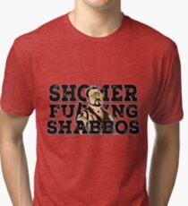 Shomer Shabbos- the big lebowski Tri-blend T-Shirt