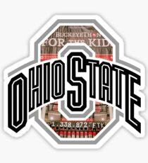 Buckeython OSU Logo Sticker