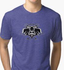 Fantasy Birds Pattern  Tri-blend T-Shirt