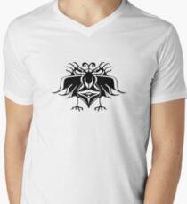 Fantasy Birds Pattern  Mens V-Neck T-Shirt