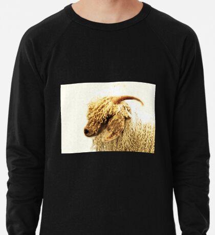 Schlechtes Haar Tag - Angora-Ziege Leichtes Sweatshirt