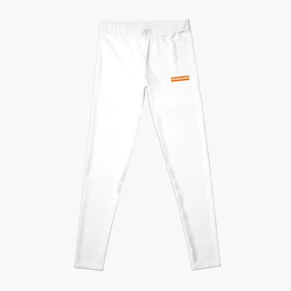 Dadju Username Collection Classique Orange et Blanc Legging