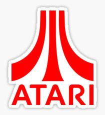 Atari logo Sticker