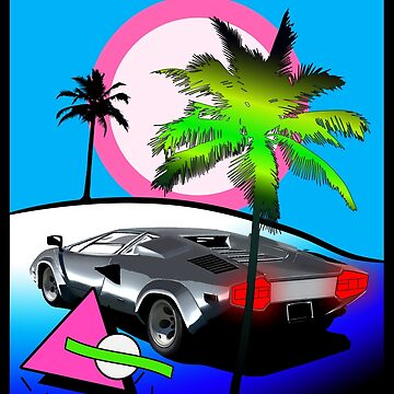 Beach Cruisn' 1990 by adamforcedesign