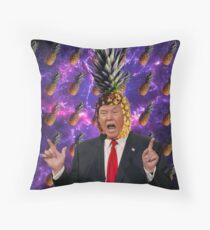 Donald Trump a.k.a. The Pineapple King Throw Pillow