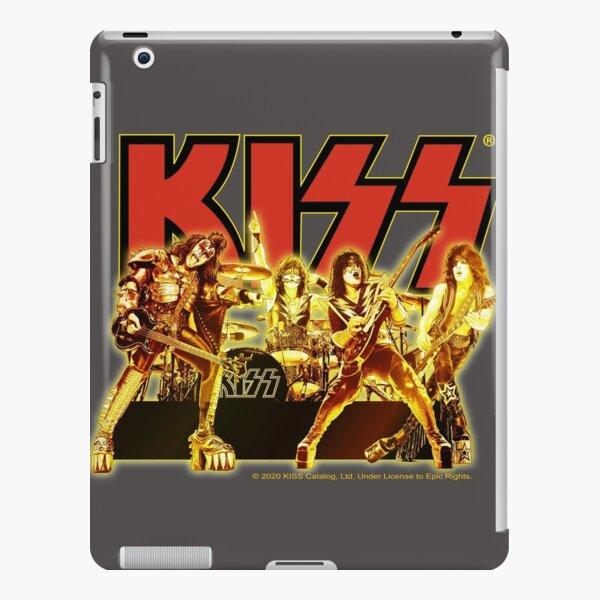 Kiss Golden Band Members Design iPad Snap Case