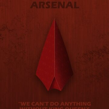 Arsenal Character Poster by fantastique2411