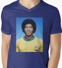 JAIRZINHO Mens V-Neck T-Shirt