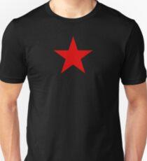 Kommunistischer Roter Stern Unisex T-Shirt