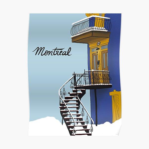 Montréal  Poster