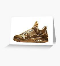Nike Gold Greeting Card