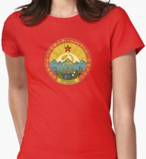 Vintage CCCP / USSR logo Womens Fitted T-Shirt