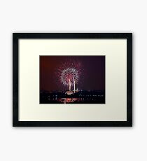 Independence Day in Washington DC Framed Print