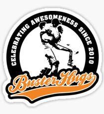 Buster Hugs Sticker