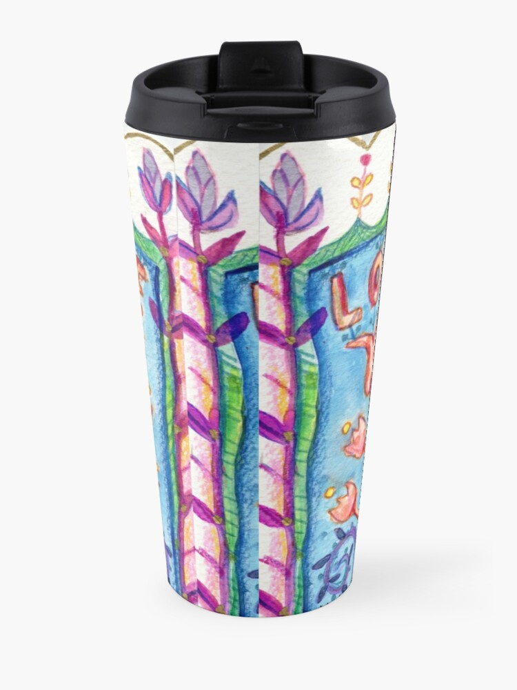 Alternate view of All you need is love Travel Mug