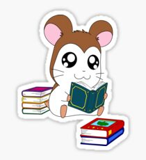 Maxwell with Books Sticker
