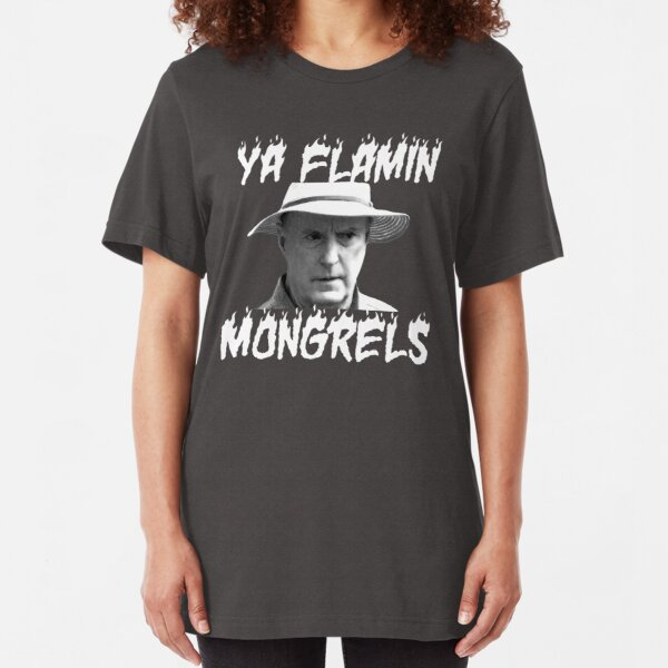 Alf Stewart Flamin Mongrels Slim Fit T-Shirt