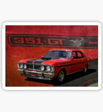 XY Ford Falcon GT Sticker