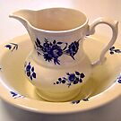 Blue and white Bowl and Jug by Shulie1