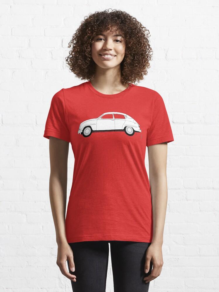Alternative Ansicht von SAAB 96 Essential T-Shirt