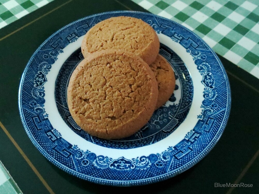 Nice things come in threes -  Mild Ginger Biscuits by BlueMoonRose