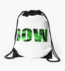 BOW BOW BOW Drawstring Bag