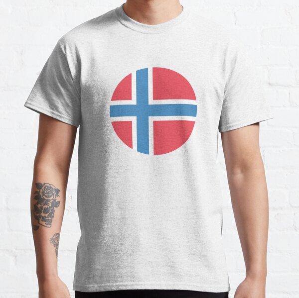 norwegian flag Classic T-Shirt