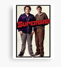 Superbad Canvas Print
