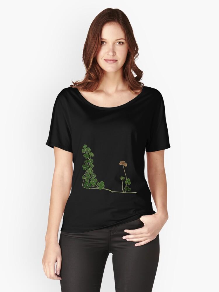 Golden Clover Dreams Women's Relaxed Fit T-Shirt Front