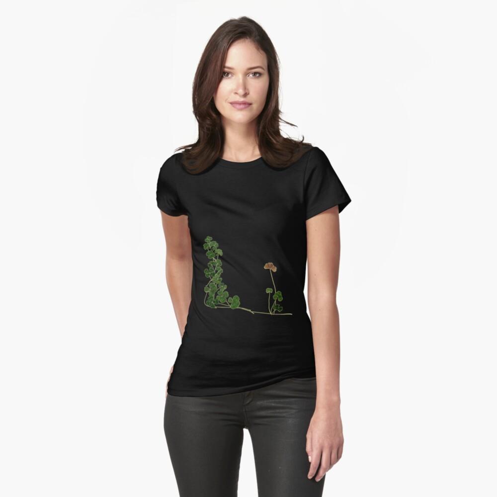 Golden Clover Dreams Womens T-Shirt Front