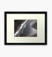 Opening Day of World Trade Center Transit Hub Oculus, Santiago Calatrava, Architect, Lower Manhattan, New York City Framed Print