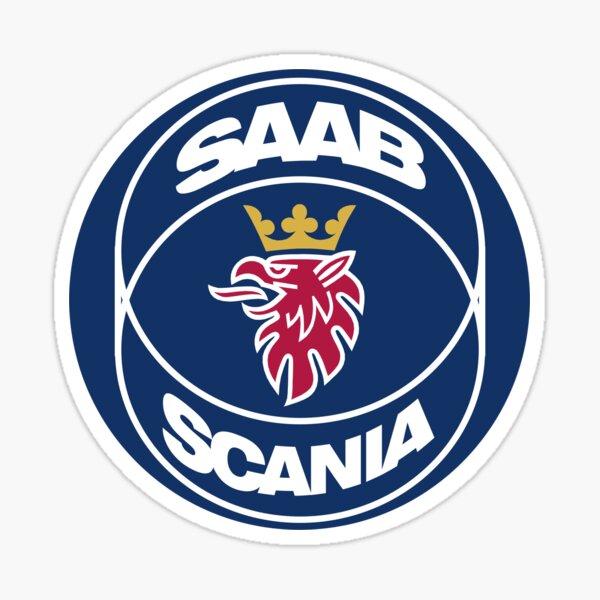 Scania Saab Altes Logo Sticker