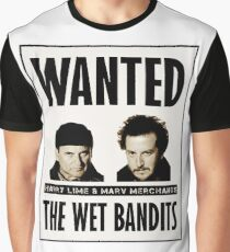 Wet Bandits Wanted  Graphic T-Shirt