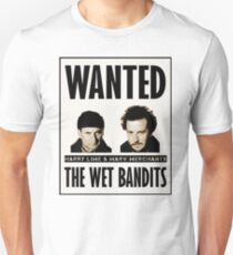 Wet Bandits Wanted  T-Shirt