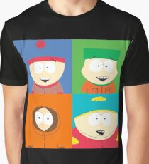 Southpark- The Gang Graphic T-Shirt