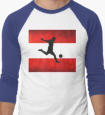 Austrian Soccer Men's Baseball ¾ T-Shirt