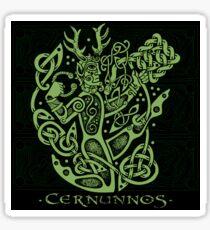 """Cernunnos, """"The Celtic Horned God"""" Sticker"""