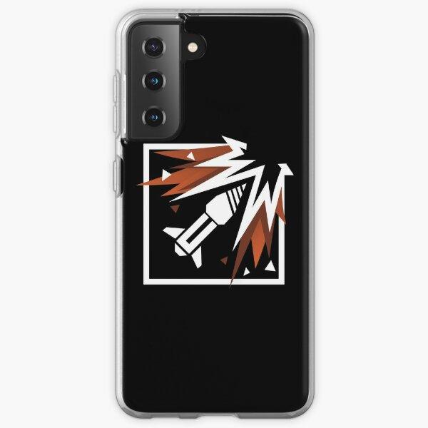 Icône Rainbow Six Siege Ash Coque souple Samsung Galaxy