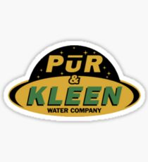 The Expanse - Pur & Kleen Water Company - Clean Sticker