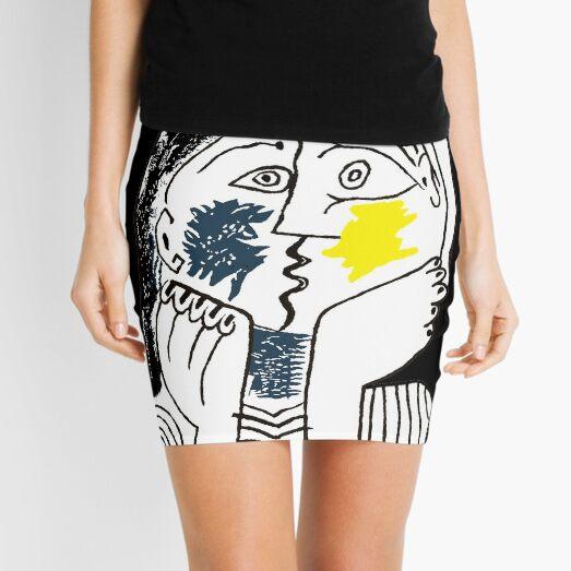 Pablo Picasso The Kiss 1979 art Mini Skirt